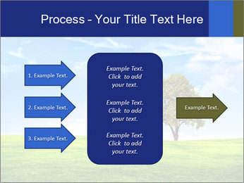Tree and blue sky PowerPoint Template - Slide 85