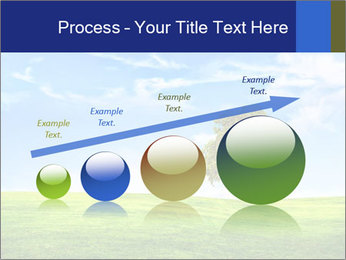 Tree and blue sky PowerPoint Template - Slide 87