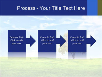 Tree and blue sky PowerPoint Template - Slide 88