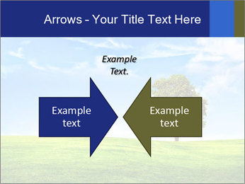 Tree and blue sky PowerPoint Templates - Slide 90