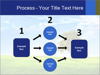 Tree and blue sky PowerPoint Template - Slide 92