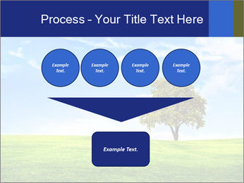 Tree and blue sky PowerPoint Template - Slide 93