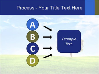 Tree and blue sky PowerPoint Templates - Slide 94