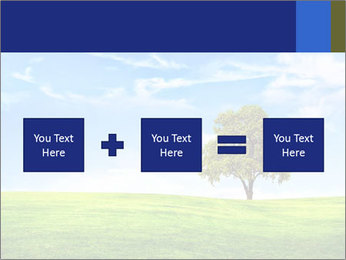Tree and blue sky PowerPoint Template - Slide 95