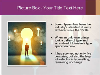 Silhouette of businessman PowerPoint Templates - Slide 13