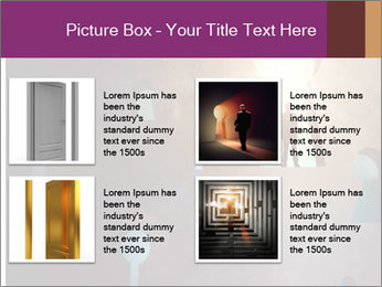 Silhouette of businessman PowerPoint Templates - Slide 14