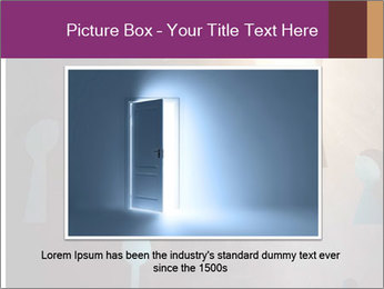 Silhouette of businessman PowerPoint Templates - Slide 15