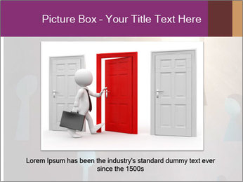 Silhouette of businessman PowerPoint Templates - Slide 16