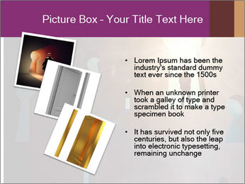 Silhouette of businessman PowerPoint Templates - Slide 17
