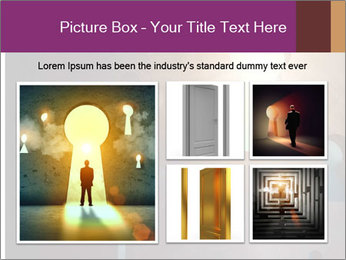 Silhouette of businessman PowerPoint Templates - Slide 19