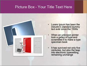 Silhouette of businessman PowerPoint Templates - Slide 20