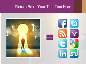 Silhouette of businessman PowerPoint Templates - Slide 21