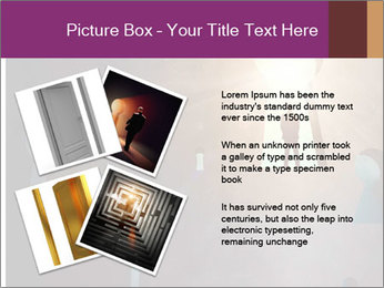 Silhouette of businessman PowerPoint Templates - Slide 23