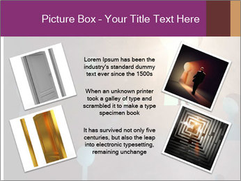 Silhouette of businessman PowerPoint Templates - Slide 24