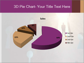 Silhouette of businessman PowerPoint Templates - Slide 35