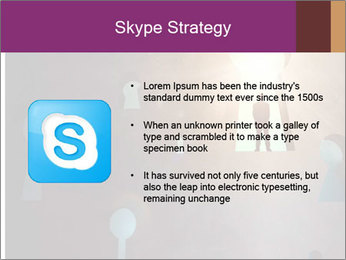 Silhouette of businessman PowerPoint Templates - Slide 8
