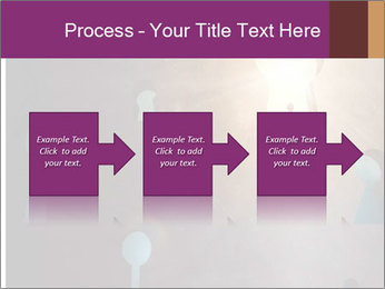 Silhouette of businessman PowerPoint Templates - Slide 88