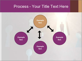 Silhouette of businessman PowerPoint Templates - Slide 91
