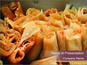 Big batch of tamales PowerPoint Templates