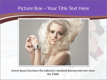 Fashionable model PowerPoint Template - Slide 15