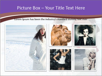 Fashionable model PowerPoint Template - Slide 19