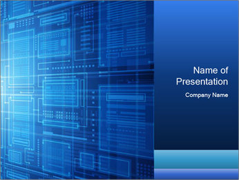 Abstract technology PowerPoint Templates - Slide 1