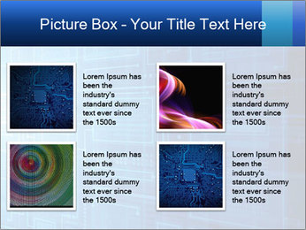 Abstract technology PowerPoint Templates - Slide 14
