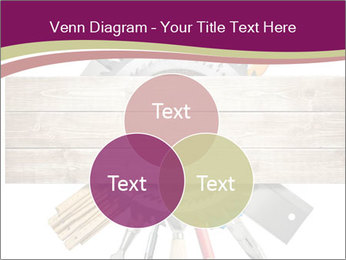 Tools underneath wooden planks PowerPoint Templates - Slide 33