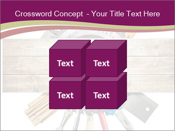 Tools underneath wooden planks PowerPoint Templates - Slide 39