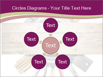 Tools underneath wooden planks PowerPoint Templates - Slide 78