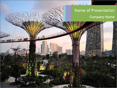 Singapore PowerPoint Template