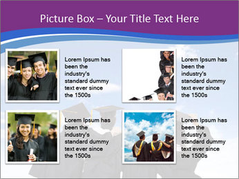 Students looking at sky PowerPoint Templates - Slide 14