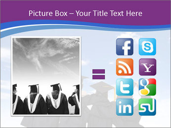 Students looking at sky PowerPoint Templates - Slide 21
