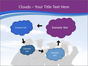 Students looking at sky PowerPoint Templates - Slide 72