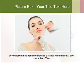 Healthy woman eye PowerPoint Template - Slide 16
