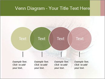 Healthy woman eye PowerPoint Template - Slide 32