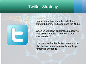Nano tube PowerPoint Templates - Slide 9