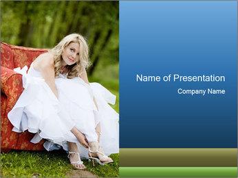 Beautiful bride PowerPoint Templates - Slide 1