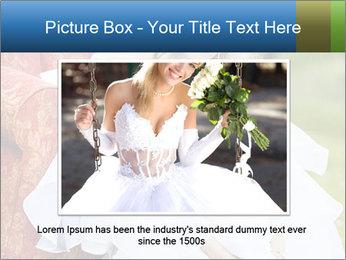 Beautiful bride PowerPoint Templates - Slide 16