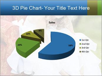 Beautiful bride PowerPoint Templates - Slide 35