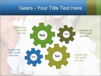 Beautiful bride PowerPoint Templates - Slide 47
