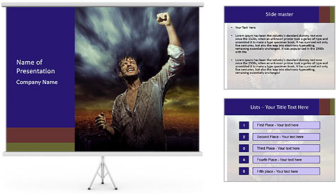 0000087395 PowerPoint Template