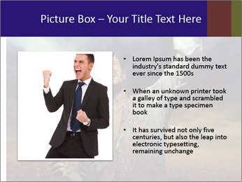 Triumphant man PowerPoint Templates - Slide 13
