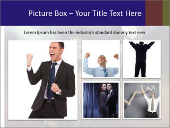 Triumphant man PowerPoint Templates - Slide 19