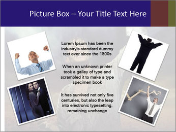 Triumphant man PowerPoint Templates - Slide 24