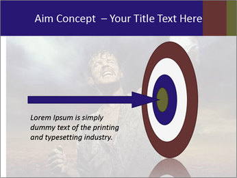 Triumphant man PowerPoint Templates - Slide 83