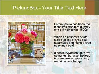 Banquet tables PowerPoint Template - Slide 13