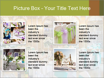 Banquet tables PowerPoint Templates - Slide 14