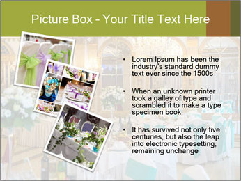 Banquet tables PowerPoint Template - Slide 17