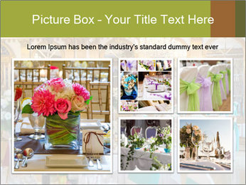 Banquet tables PowerPoint Template - Slide 19